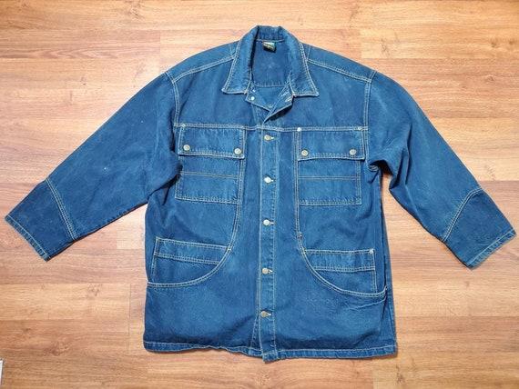 Vintage Cross Colours Denim Jacket, 90s Hip Hop De