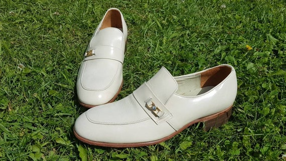 Vintage 70s Florsheim Loafers, Vintage Florsheim L