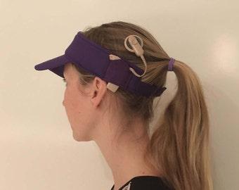 Child Sun hat Visor for cochlear implants - plain colours