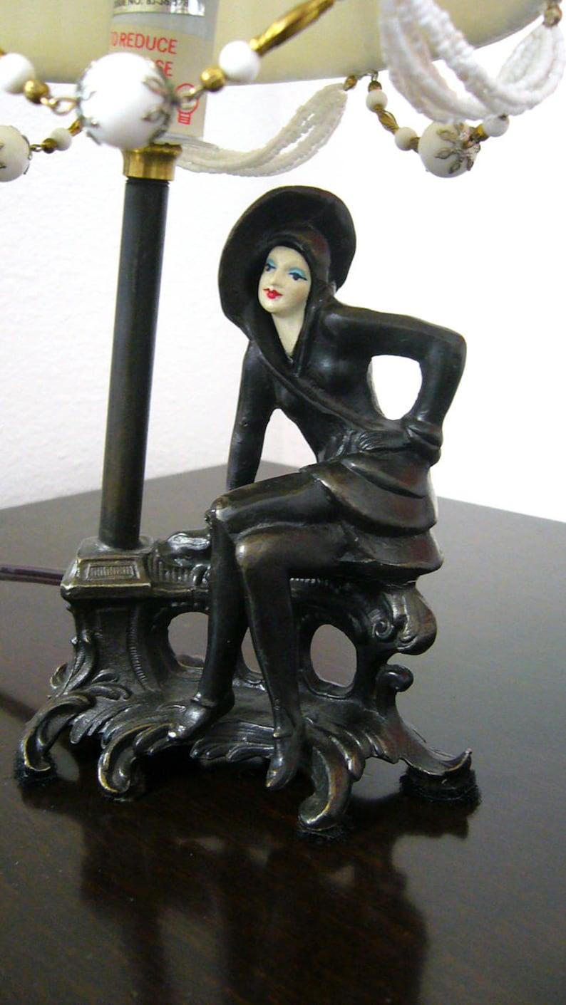 Lady Figural Lamp 10