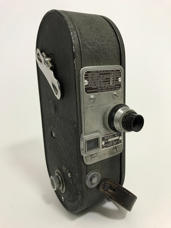 Keystone Model A-7 Wollensak f2 7 Lens 16mm Vintage Film Camera