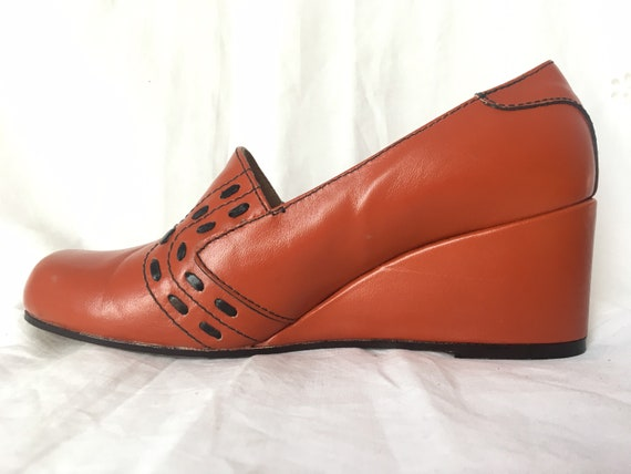 Vintage leather shoes -size 6