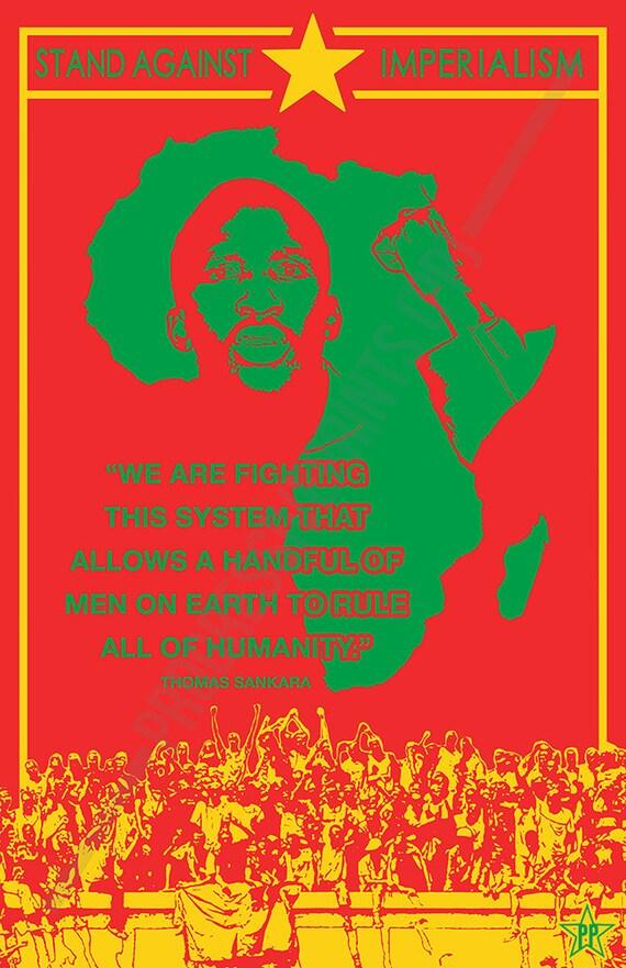 Poster Thomas Sankara Fighting This System