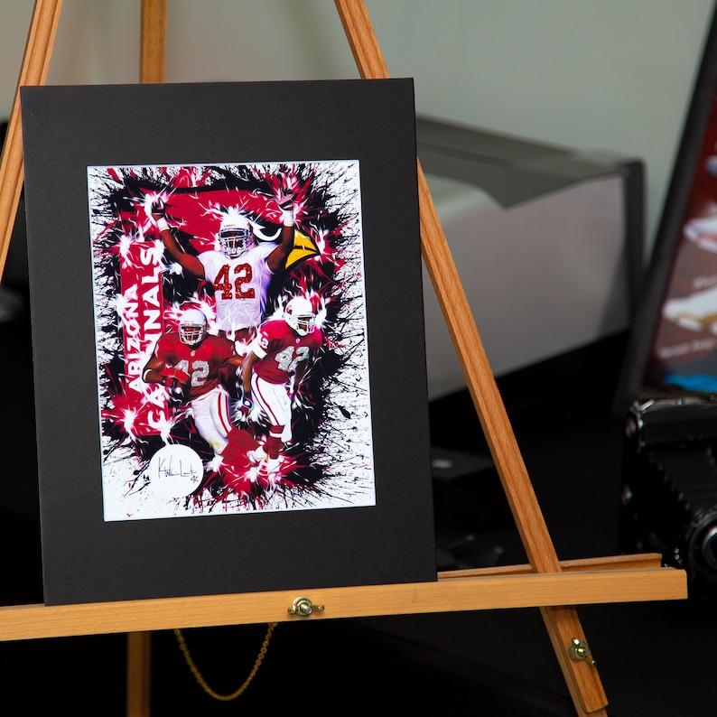 reputable site e0b15 77c2e Arizona Cardinals - Kwamie Lassiter - Tribute Artwork - Unique Design -  Custom artwork available!