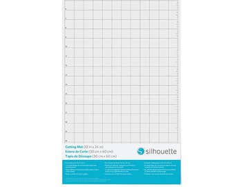 "Silhouette Cameo Cutting Mat - 12""x24"", Normal Tack Adhesive, Craft Cutting Mat, Placement Grid, Vinyl Cutting, Machine Cutting Mat, Cut Mat"