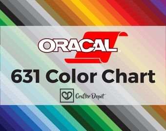 Oracal color chart | Etsy