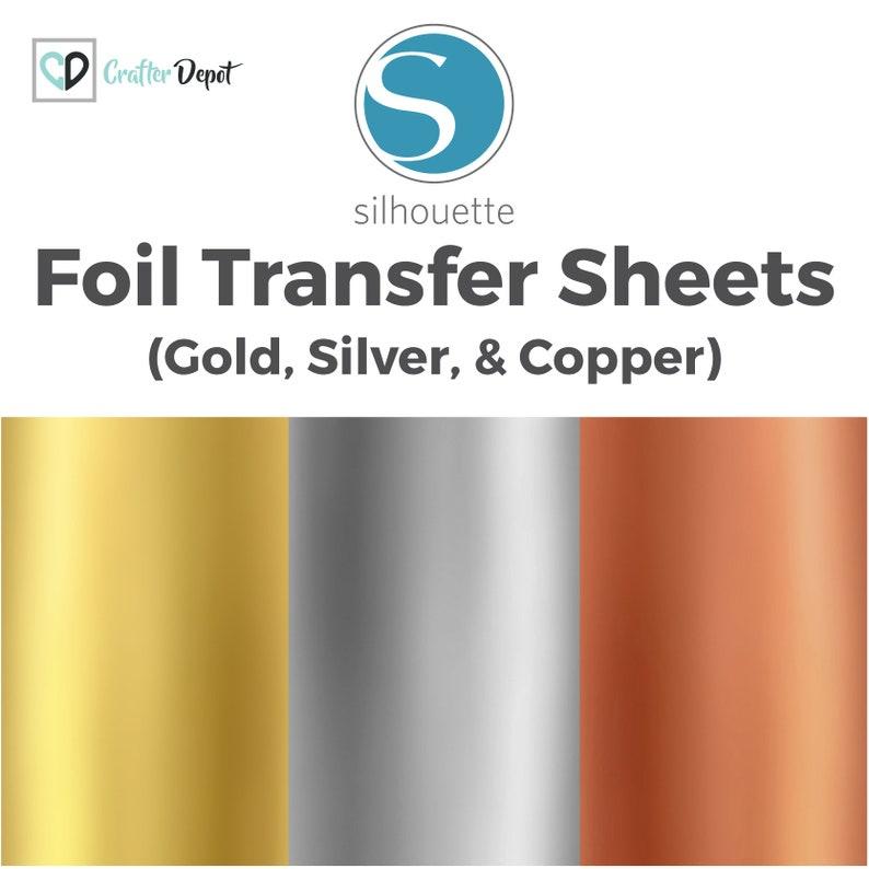 7f0bb58cb41 Silhouette Foil Transfer Sheets Foil Transfer Paper