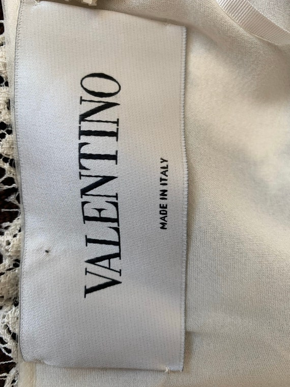 Valentino Vintage Sequin Dress Ivory, Vintage Seq… - image 3