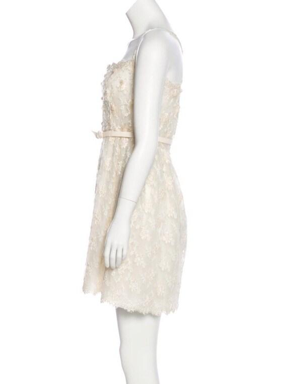 Valentino Vintage Sequin Dress Ivory, Vintage Seq… - image 2