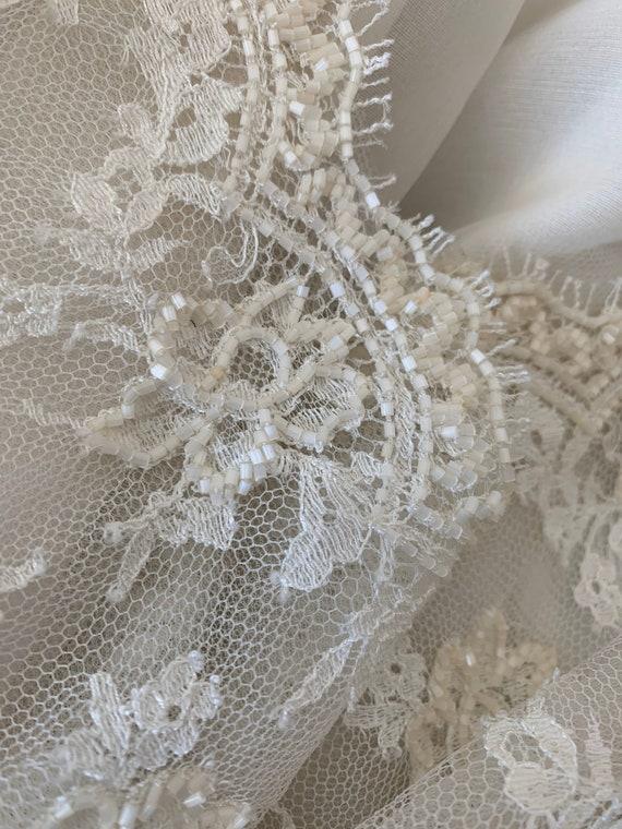 Valentino Vintage Sequin Dress Ivory, Vintage Seq… - image 8