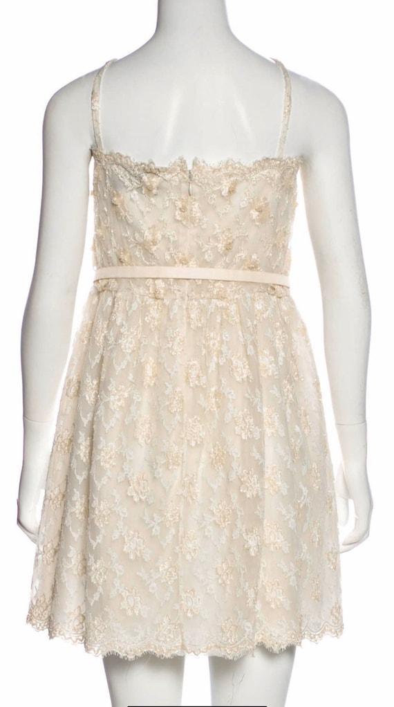 Valentino Vintage Sequin Dress Ivory, Vintage Seq… - image 7