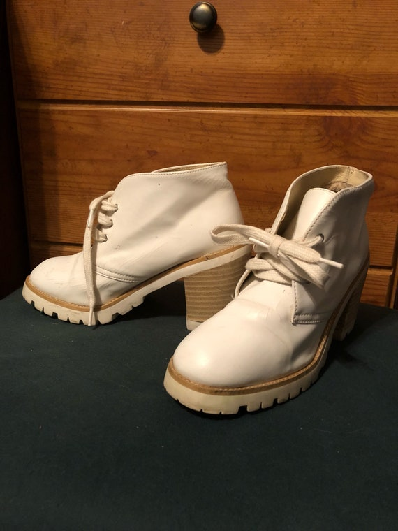 70's Ankle Go-Go Boots Womans 5.5
