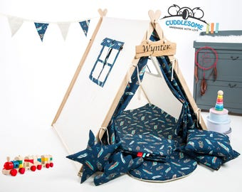 Kids teepee tent playhouse, tent for children, teepee, best birthday gift, kids tipi, kids tent, kids teepee, play tent, nursery decoration
