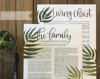 The Family Proclamation | Handwritten & Styled Prints