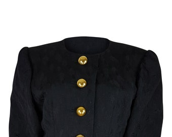 YVES SAINT LAURENT Brocade Jacket (38)