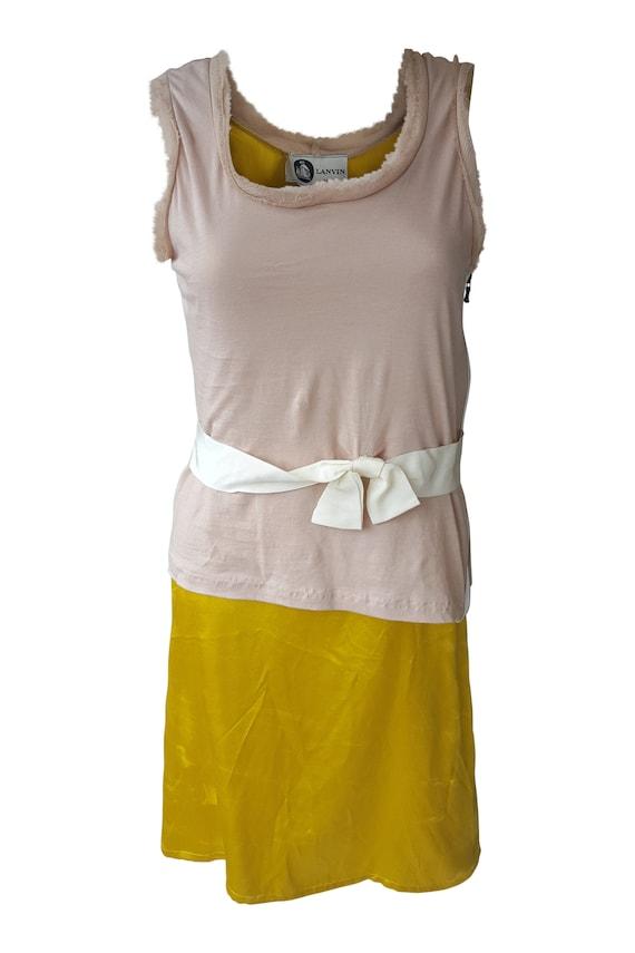 LANVIN Vintage Silk and Cotton Dress (S) - Jeanne