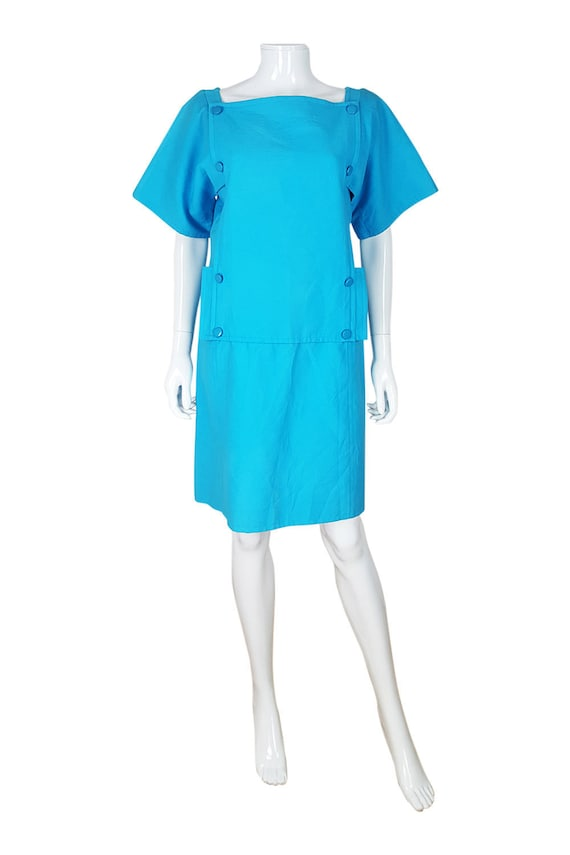 COURREGES Vintage Mod Mini Dress (42)