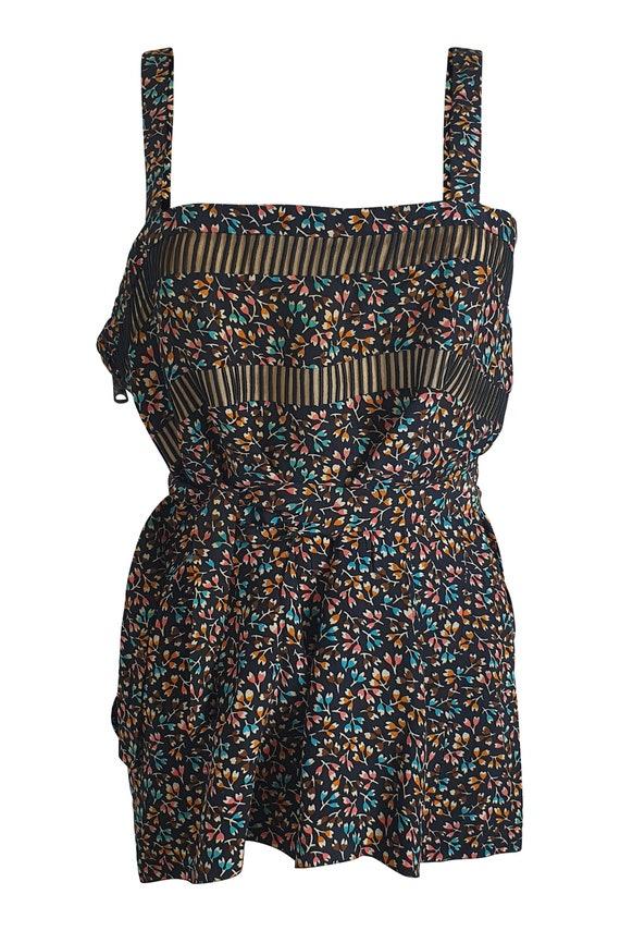 CHRISTIAN DIOR Boutique Couture Vintage Silk Vest