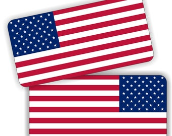 American Flag Old Glory Subdued Blue line Design Cornhole Board Skin Wrap