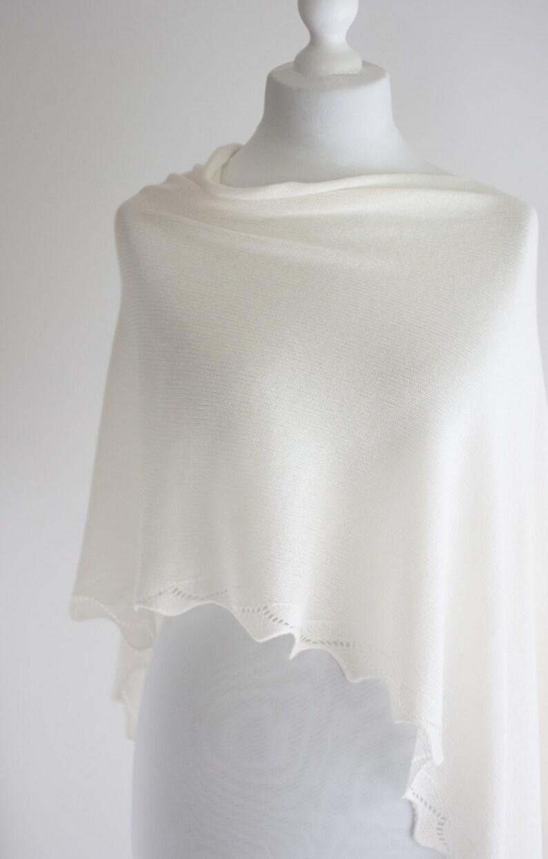 c227314819a Enveloppe de mariage de Cachemire laine douce étole tricoté