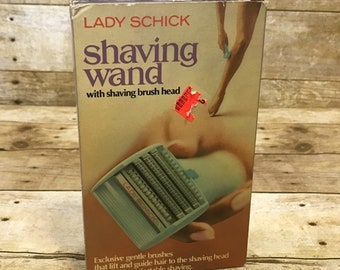 Lady Schick Shaving Wand Electric Razor Vintage 1970s Complete with Original Box