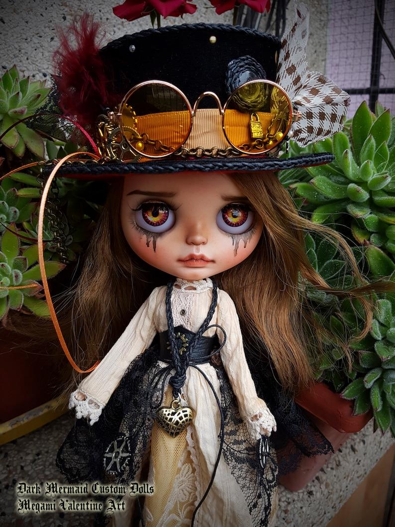 BLYTHE muñeca OOAK Fullset Odette Steampunk victoriano por  6051ed74f4e9