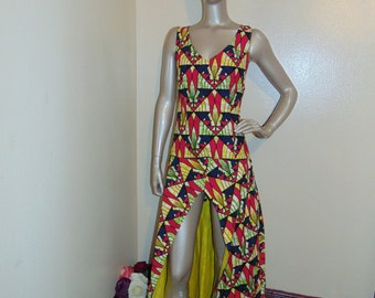e49f134bbf Vintage african print dress