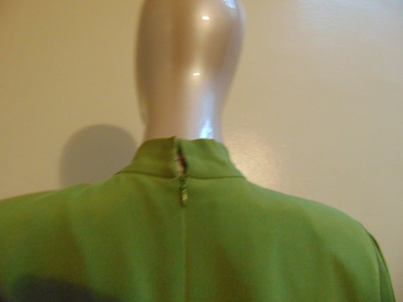 Green Bow Tie Dress - image 4