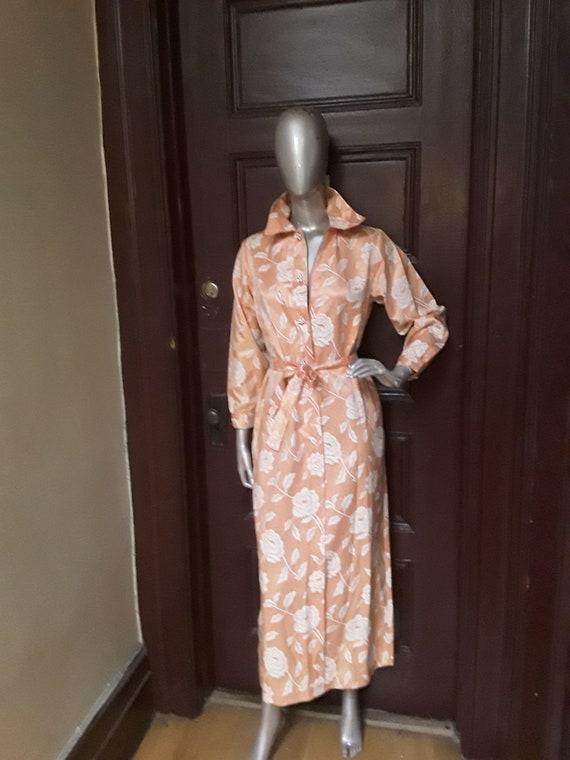 Damask Shirt Dress