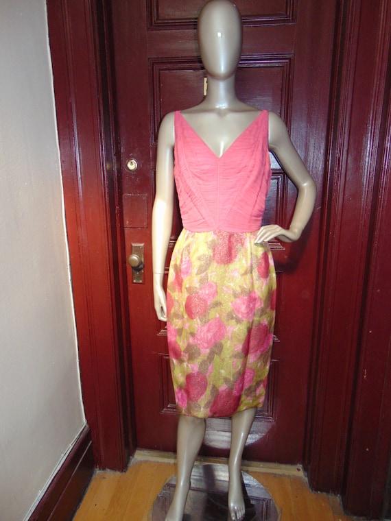 Vintage Pink Sherbet Suit
