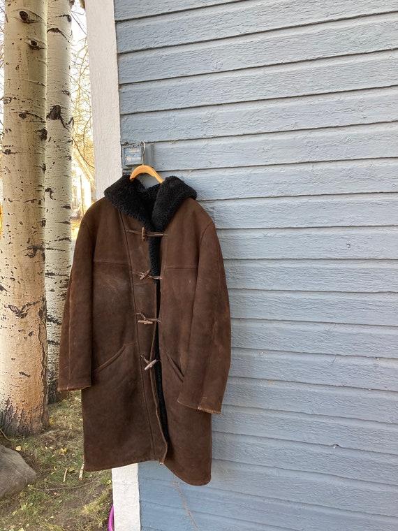 Vintage Shearling Coat Classic Sheepskin Penny Lan