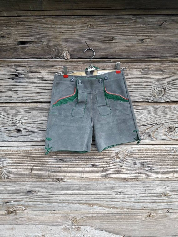 XS Vintage Lederhosen Bavarian Costume  Women's XS