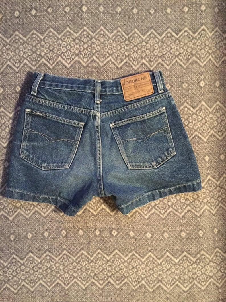 90/'s Jordache Denim Shorts Jean Shorts  26