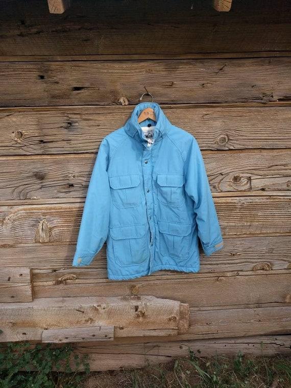 Woolrich Parka Chore Jacket Field Jacket Baby Blue