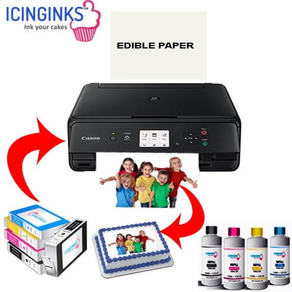 Wafer Paper Ink Edible Printer Starter Kit Canon IP7250 Refill Ink Cartridges