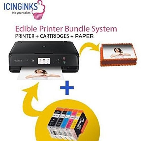 Starter Kit Edible Printer Package bundle /& Airbrush Kit for Cake Decorating