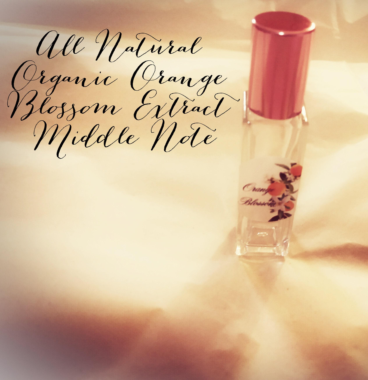Parfum naturel  Orange Blossom Natural Perfume Oil. Parfum