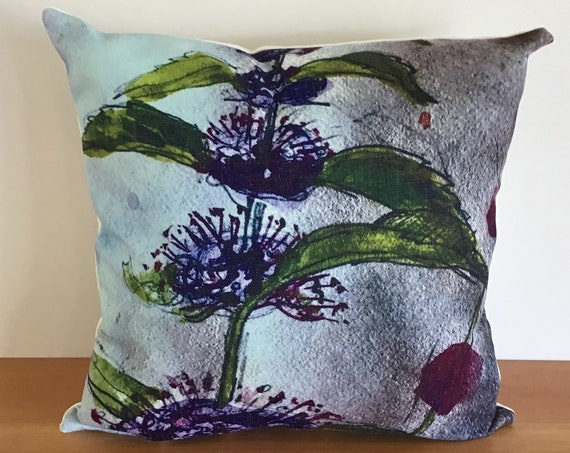 """Wild Mint Indoor/Outdoor Pillow Cover 20"""" by 20"""""""