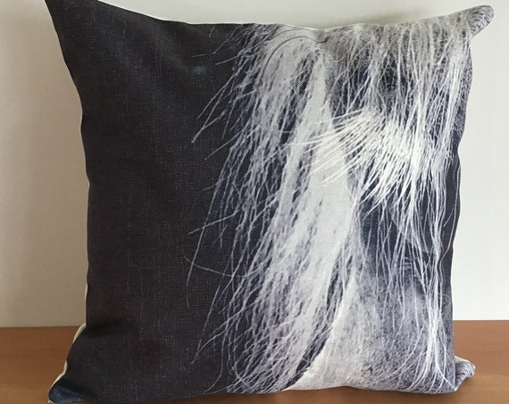 """Horse Eye Pillow Cover 20"""" by 20"""""""