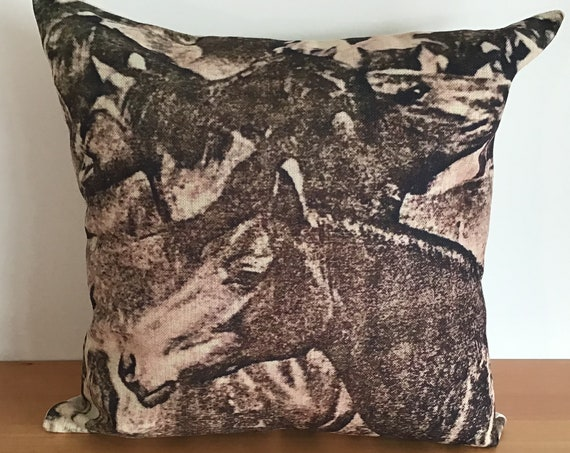 """Wild Horse  Pillow Cover 20"""" by 20"""""""