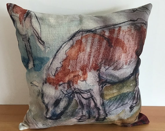 """Calf Pillow Cover 20"""" by 20"""""""