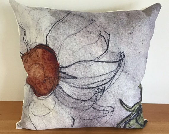 "Daisy Indoor/Outdoor Pillow Cover 20"" by 20"""