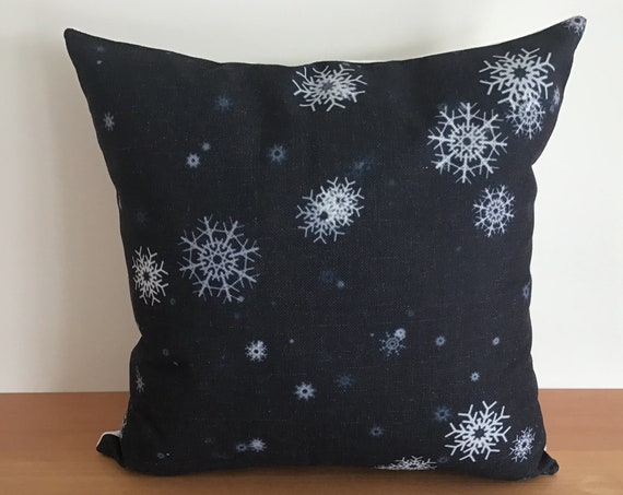 """Magical Christmas Snowflake  Pillow Cover 20"""" by 20"""""""