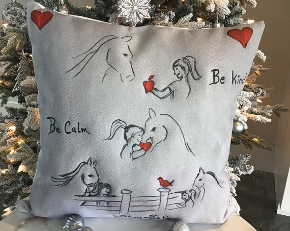 Personalized Comfort, Kindness and Support Christmas Pillow Cover gift for young girl during Covid