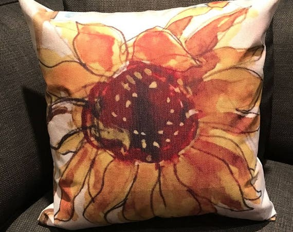 Sunflower Decorative Pillow Cover