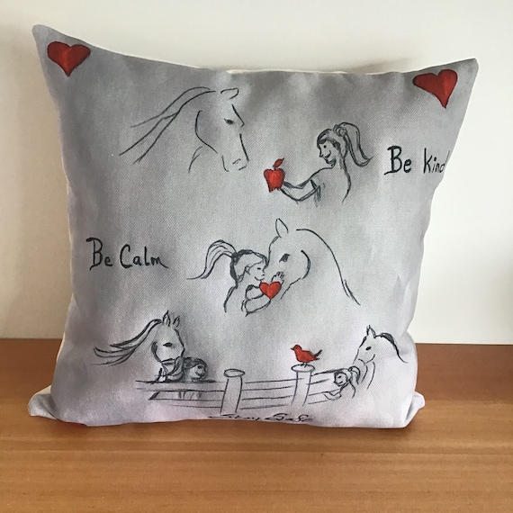 COVID kindness and comfort pillow cover