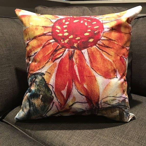 Sunflower Decorative Pillow Cover