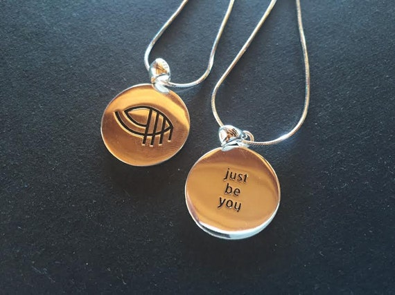 Just Be You .925 Silver Necklace