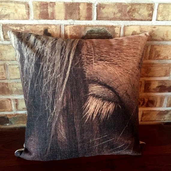 Rustic Modern Connie Eye Pillow Cover