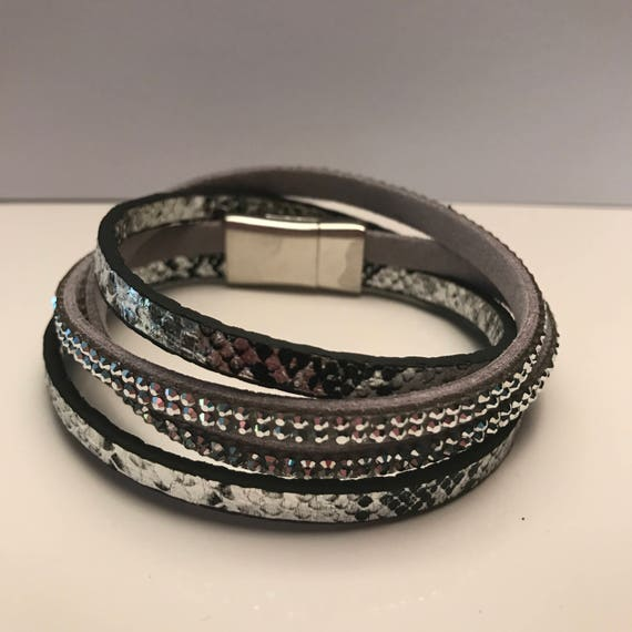 Thin Cuff Wrap Bracelets